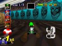 Screenshot for Mario Kart 64 - click to enlarge