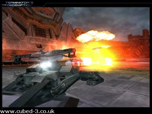 Screenshot for Terminator 3: The Redemption on GameCube - on Nintendo Wii U, 3DS games review