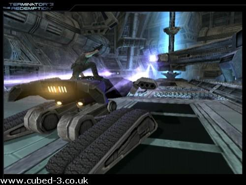 Screenshot for Terminator 3: The Redemption on GameCube- on Nintendo Wii U, 3DS games review