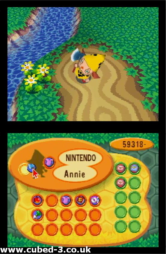 Screenshot for Animal Crossing: Wild World - click to enlarge