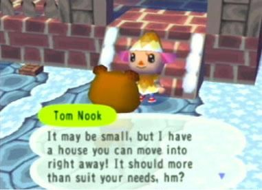 Screenshot for Animal Crossing on GameCube