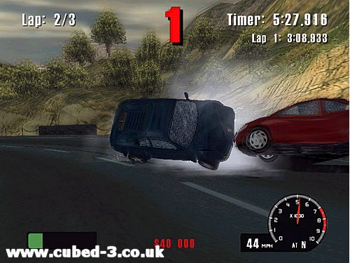 Screenshot for Burnout on GameCube