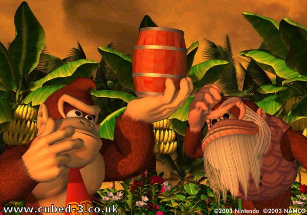Screenshot for Donkey Konga on GameCube - on Nintendo Wii U, 3DS games review