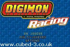Screenshot for Digimon Racing - click to enlarge