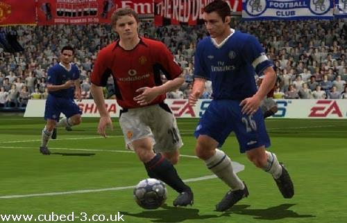 Screenshot for FIFA Football 2005 on GameCube