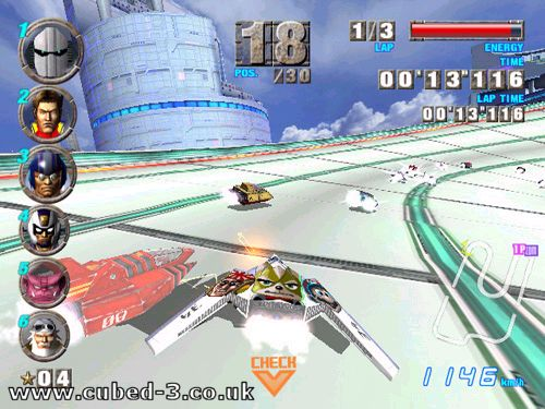 Screenshot for F-Zero GX on GameCube - on Nintendo Wii U, 3DS games review