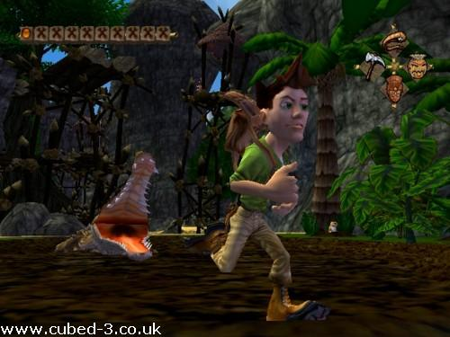 Screenshot for Pitfall: The Lost Expedition - click to enlarge