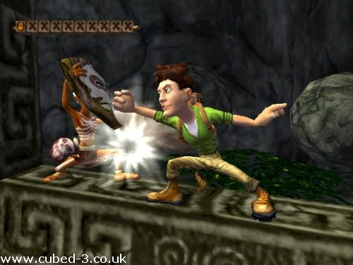 Screenshot for Pitfall: The Lost Expedition on GameCube