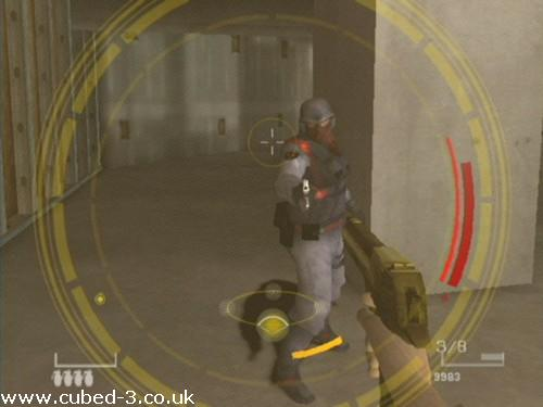 Screenshot for GoldenEye: Rogue Agent on GameCube