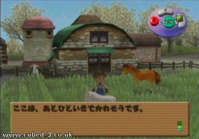 Screenshot for Harvest Moon: A Wonderful Life on GameCube - on Nintendo Wii U, 3DS games review