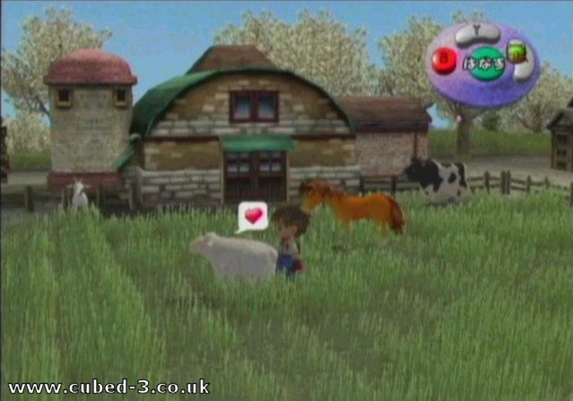 Screenshot for Harvest Moon: A Wonderful Life on GameCube- on Nintendo Wii U, 3DS games review