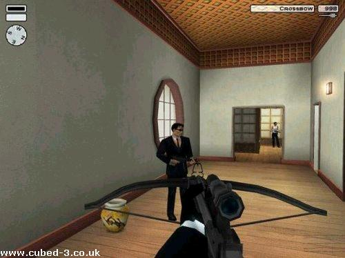 Screenshot for Hitman 2: Silent Assassin on GameCube - on Nintendo Wii U, 3DS games review