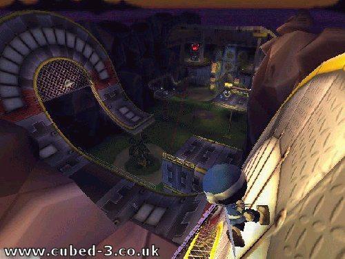 Screenshot for I-Ninja - click to enlarge