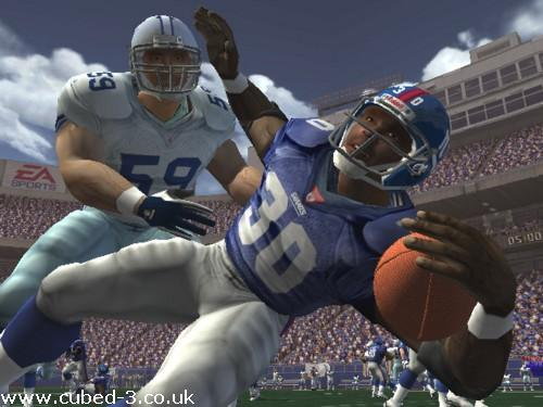 Screenshot for Madden NFL 2003 on GameCube