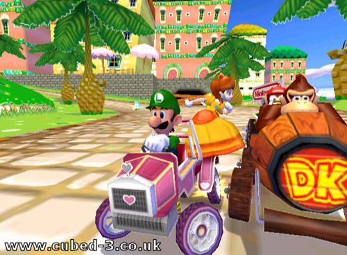 Screenshot for Mario Kart: Double Dash!! on GameCube