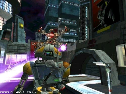 Screenshot for Metal Arms: Glitch in the System - click to enlarge