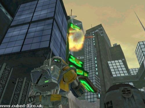 Screenshot for Metal Arms: Glitch in the System on GameCube- on Nintendo Wii U, 3DS games review