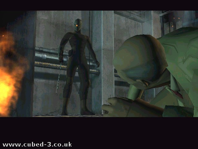 Screenshot for Metal Gear Solid: The Twin Snakes on GameCube - on Nintendo Wii U, 3DS games review