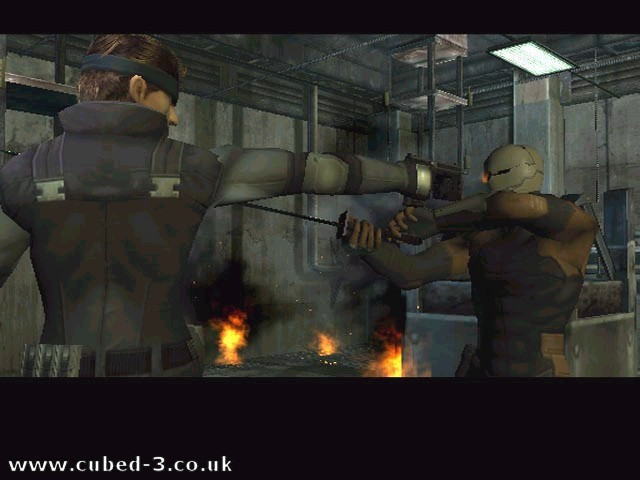 Screenshot for Metal Gear Solid: The Twin Snakes on GameCube- on Nintendo Wii U, 3DS games review