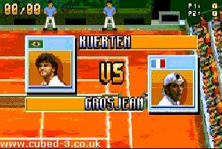 Screenshot for Next Generation Tennis on Game Boy Advance - on Nintendo Wii U, 3DS games review