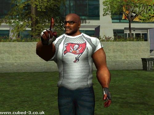 Screenshot for NFL Street - click to enlarge