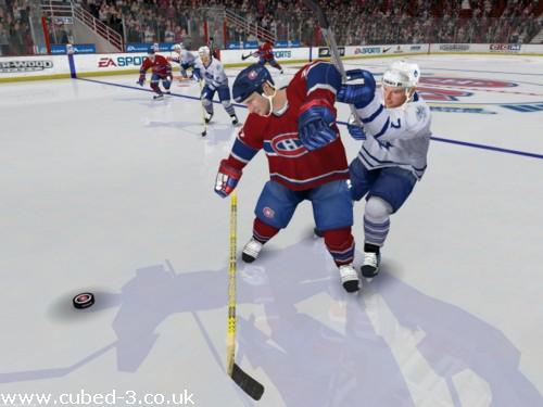 Screenshot for NHL 2005 on GameCube - on Nintendo Wii U, 3DS games review