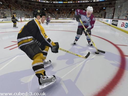 Screenshot for NHL 2005 on GameCube- on Nintendo Wii U, 3DS games review
