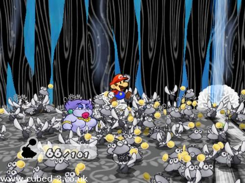 Screenshot for Paper Mario: The Thousand Year Door on GameCube