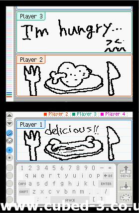 Screenshot for PictoChat - click to enlarge