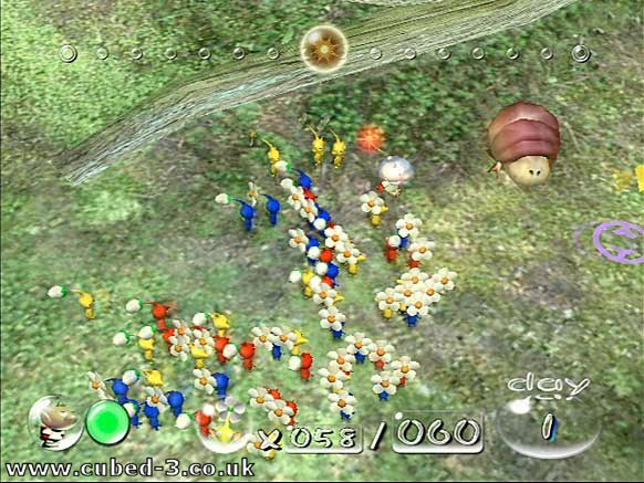 Screenshot for Pikmin - click to enlarge