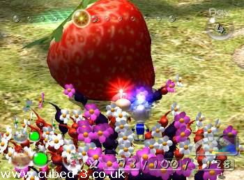 Screenshot for Pikmin 2 on GameCube - on Nintendo Wii U, 3DS games review