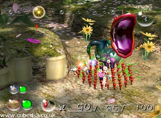 Screenshot for Pikmin 2 on GameCube- on Nintendo Wii U, 3DS games review
