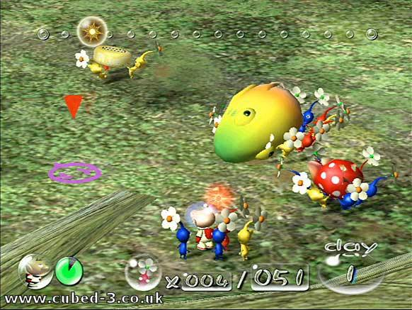 Pikmin Gamecube Screens And Art Gallery Cubed3
