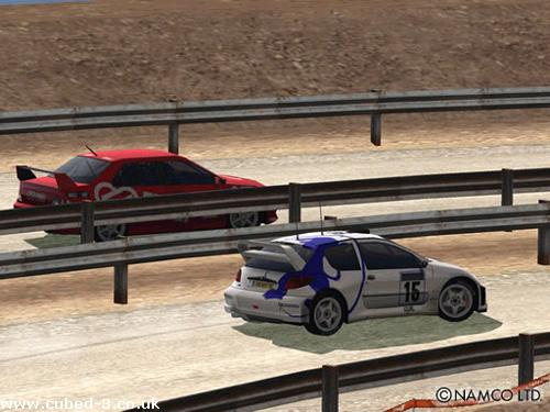 Screenshot for R: Racing Evolution - click to enlarge