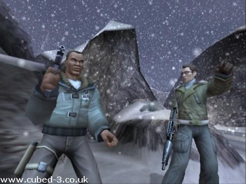 Screenshot for Second Sight on GameCube