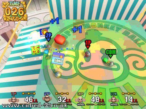 Gamecube Monkey Ball Monkey Ball 2 on Gamecube