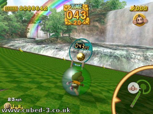 Screenshot for Super Monkey Ball on GameCube