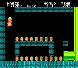 Screenshot for Super Mario Bros. on NES