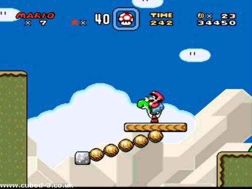 Screenshot for Super Mario World on Super Nintendo