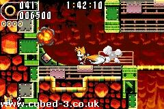 Screenshot for Sonic Advance 2 on Game Boy Advance - on Nintendo Wii U, 3DS games review