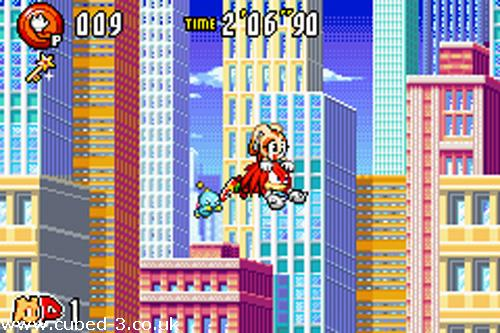 Screenshot for Sonic Advance 3 - click to enlarge