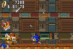 Screenshot for Sonic Advance on Game Boy Advance- on Nintendo Wii U, 3DS games review