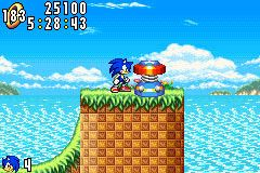 Screenshot for Sonic Advance - click to enlarge