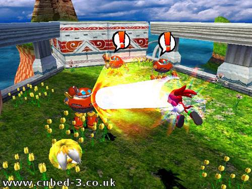 Screenshot for Sonic Heroes - click to enlarge