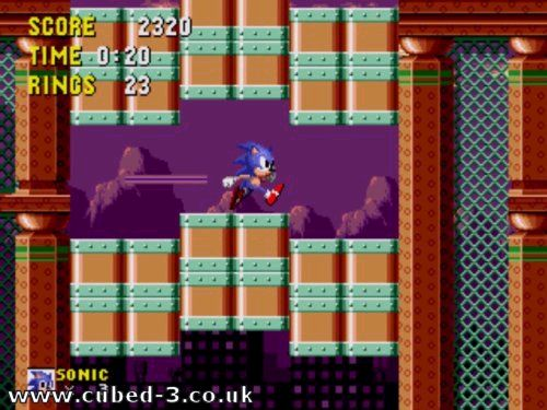 Screenshot for Sonic Mega Collection on GameCube- on Nintendo Wii U, 3DS games review