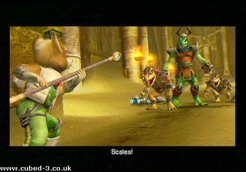 Screenshot for Star Fox Adventures on GameCube- on Nintendo Wii U, 3DS games review