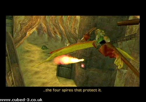 Screenshot for Star Fox Adventures - click to enlarge