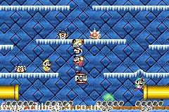 Screenshot for Super Mario Advance - click to enlarge