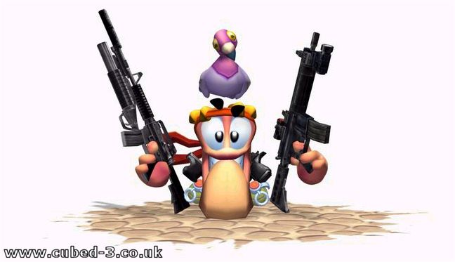 Screenshot for Worms 3D - click to enlarge