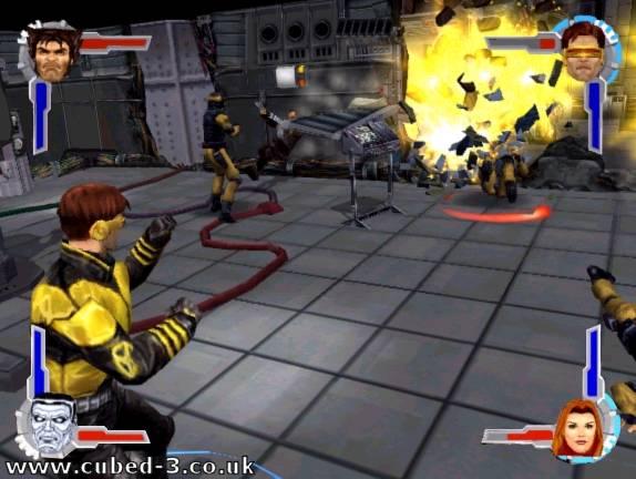 Screenshot for X-Men Legends - click to enlarge